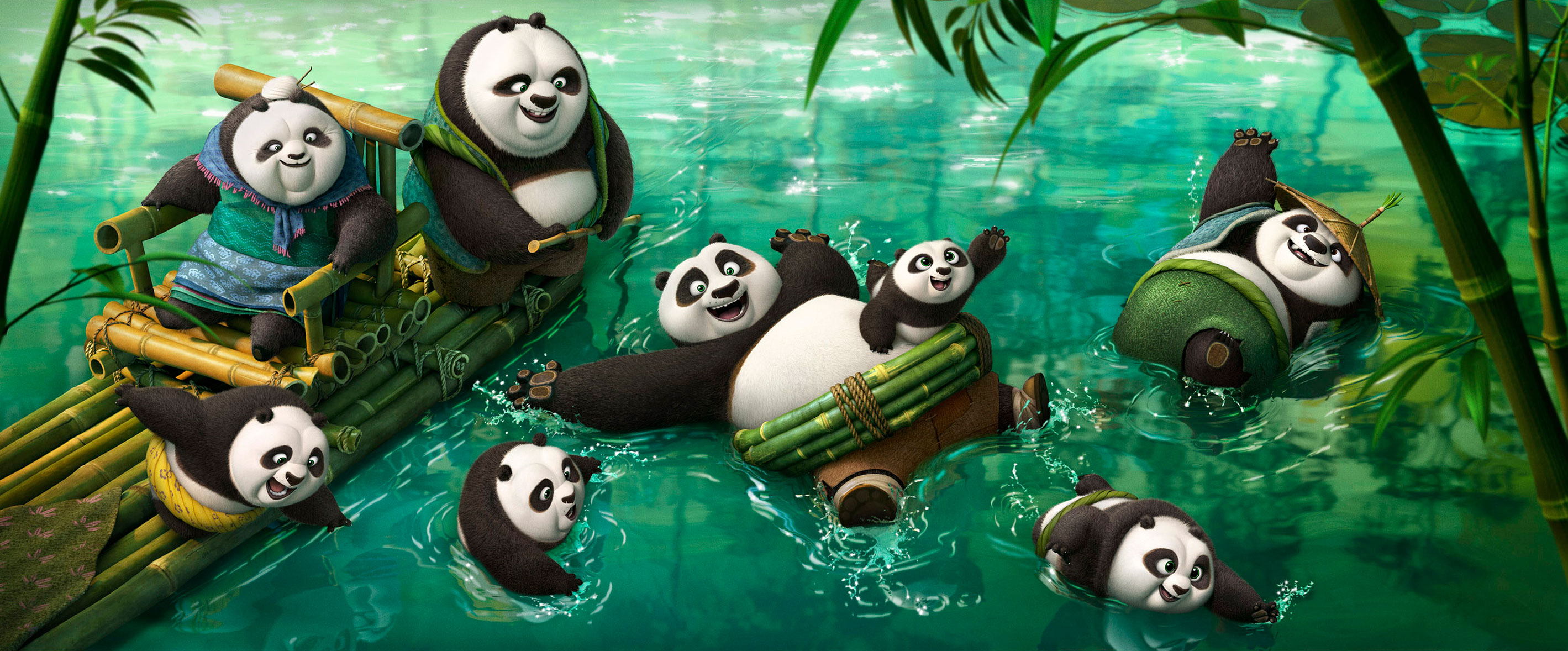 The legend is back – Kung Fu Panda 3 (trailer)