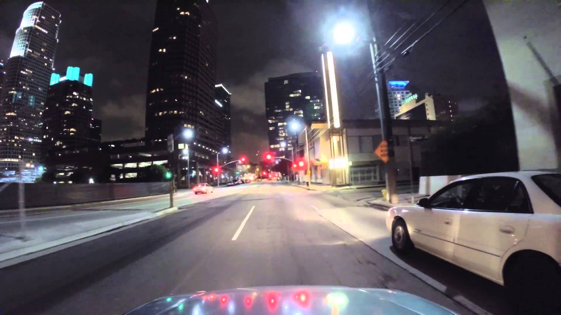 Drive X Nightcrawler: driving by night video